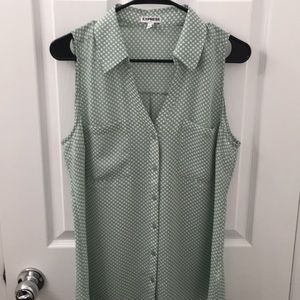 Express button up blouse